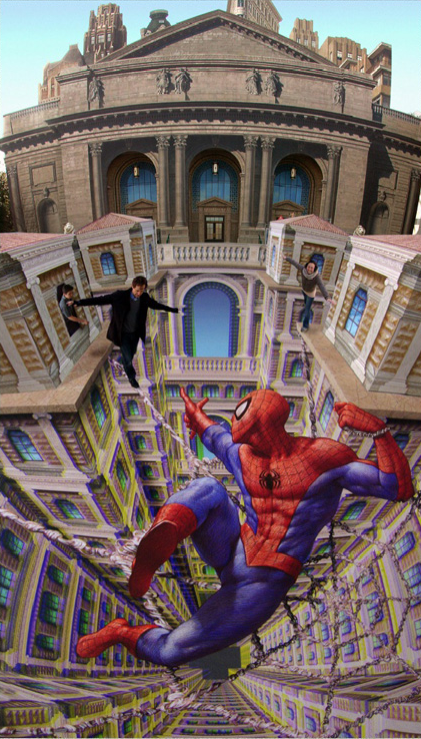 Drawing by Kurt Wenner