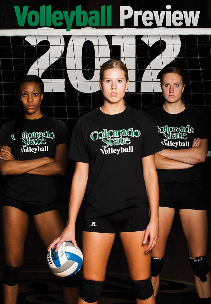 082312 VBALL PREVIEW NL Preseason All Mountain West team members lead CSU volleyball in 2012