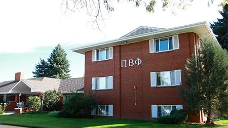 The Pi Beta Phi sorority house lies on West Lake street along with some other sorority and fraternity houses. All these buildings lie right on the foundation of where the prospected future CSU Football Stadium would be.