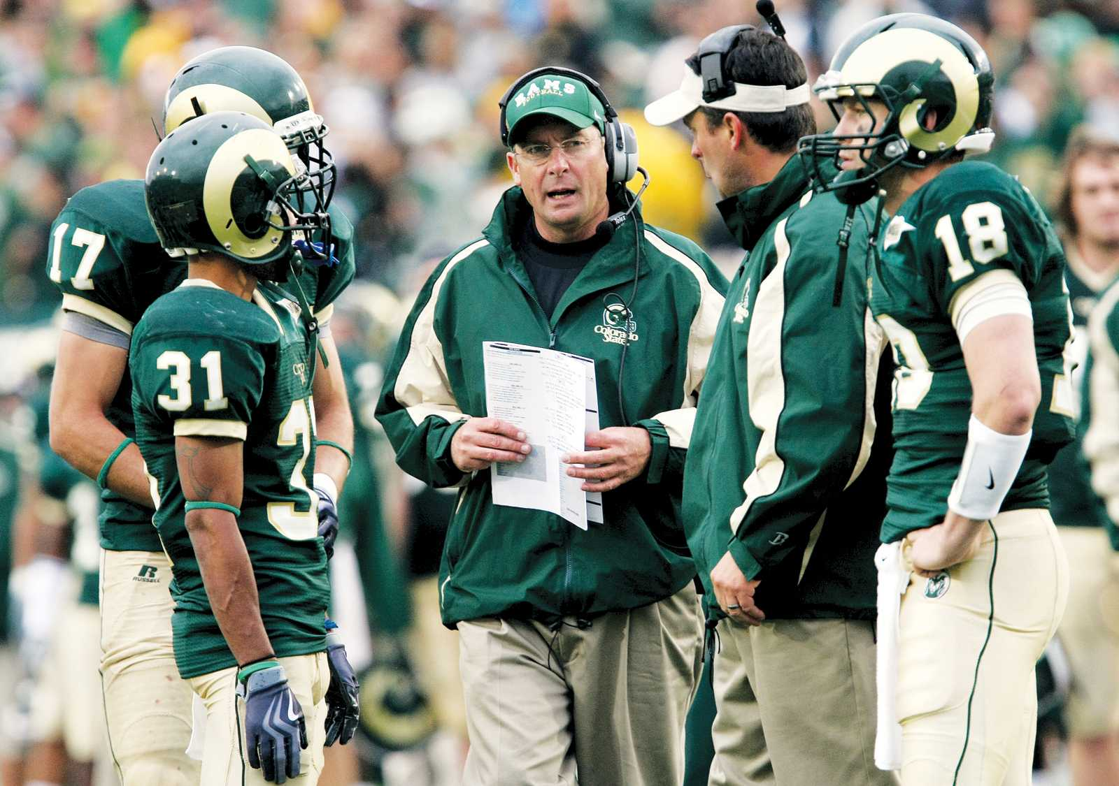 Former CSU football head coach Steve Fairchild was anncouced as the next offensive coordinator and quarterbacks coach at the University of Virginia. Fairchild has 31 years of coaching experience in both NCAA and NFL.