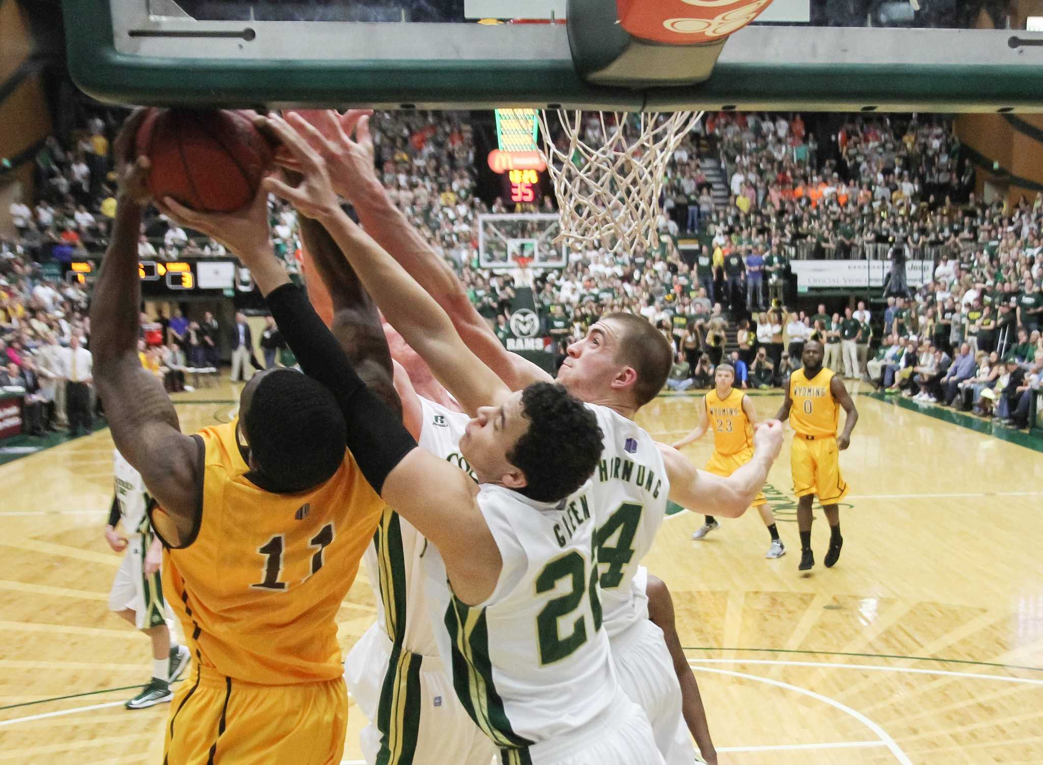 Colorado State men's basketball plays Wyoming at Moby Arena Saturday night in the annual border war.