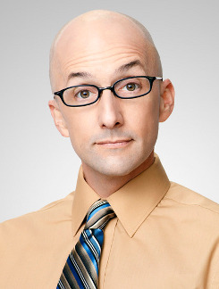 COMMUNITY -- Season:3 -- Pictured: Jim Rash as Dean Pelton -- Photo by: Mitchell Haaseth/NBC