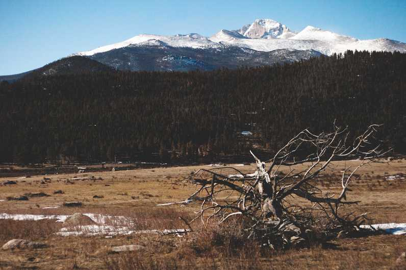 Rocky Mountain National Park sits quietly early on Easter morning. Expected cuts of up to $600,000 due to sequestration budget cuts will result in reductions in road maintenance and campsite availability at Rocky Mountain National Park.