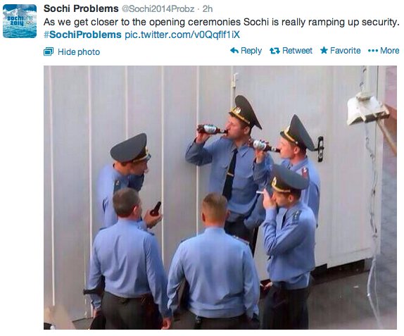 Top 10 Tweets during the Sochi Opening Ceremony