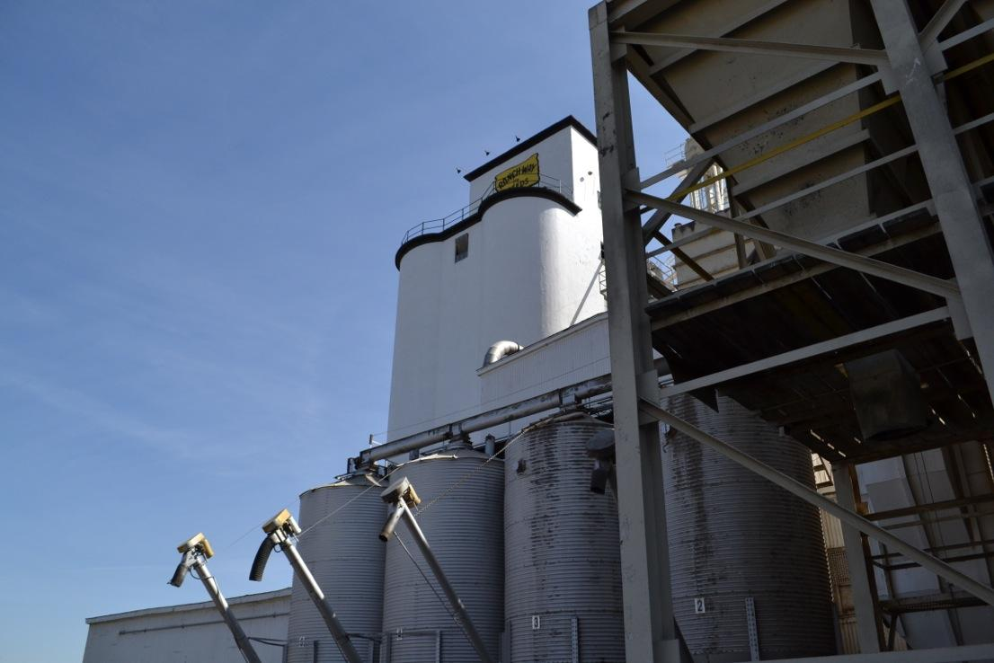 Ranch-Way Feed Mill in Fort Collins has a large custom feed business. Photo credit Dixie Crowe.