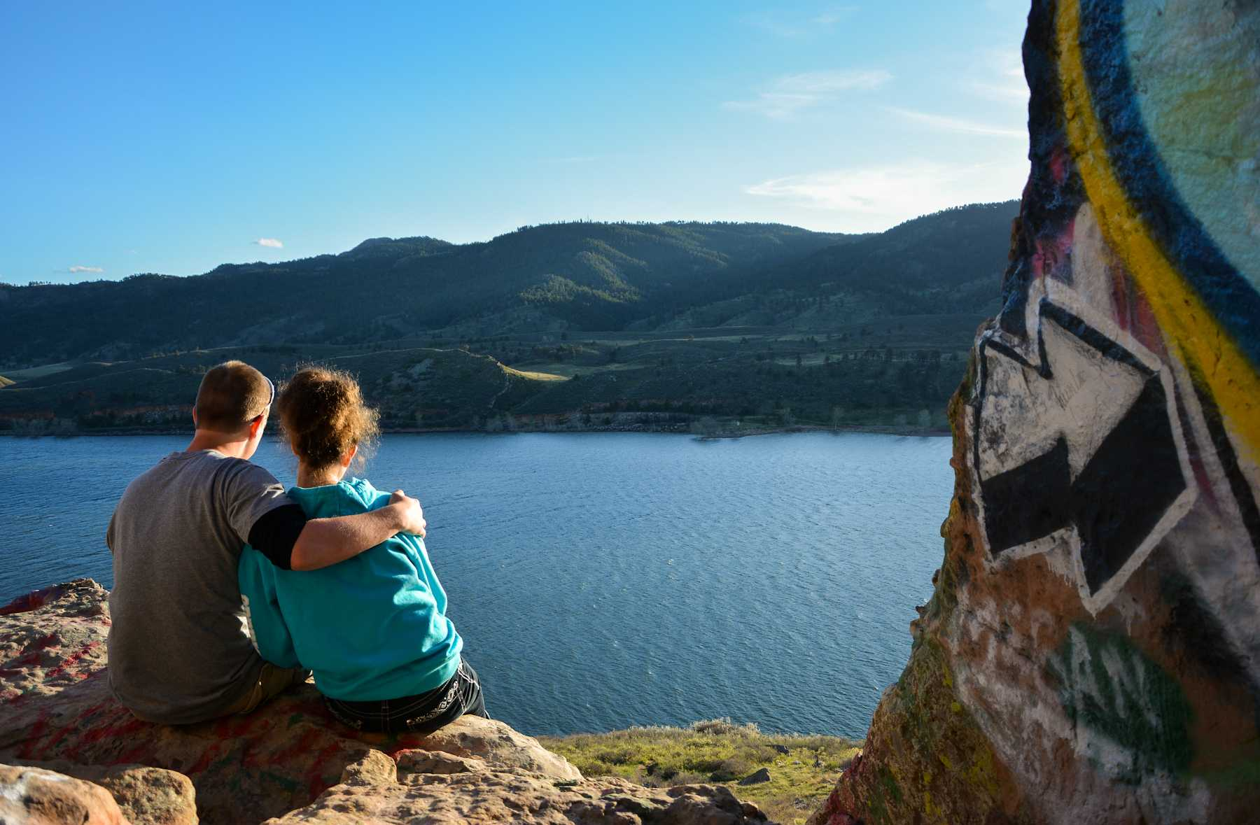 With summer closing in fast, couples are headed outdoors for their dates. Horsetooth Reservoir is a popular place to enjoy the sun, the water, the mountains, and the stars all in one day.