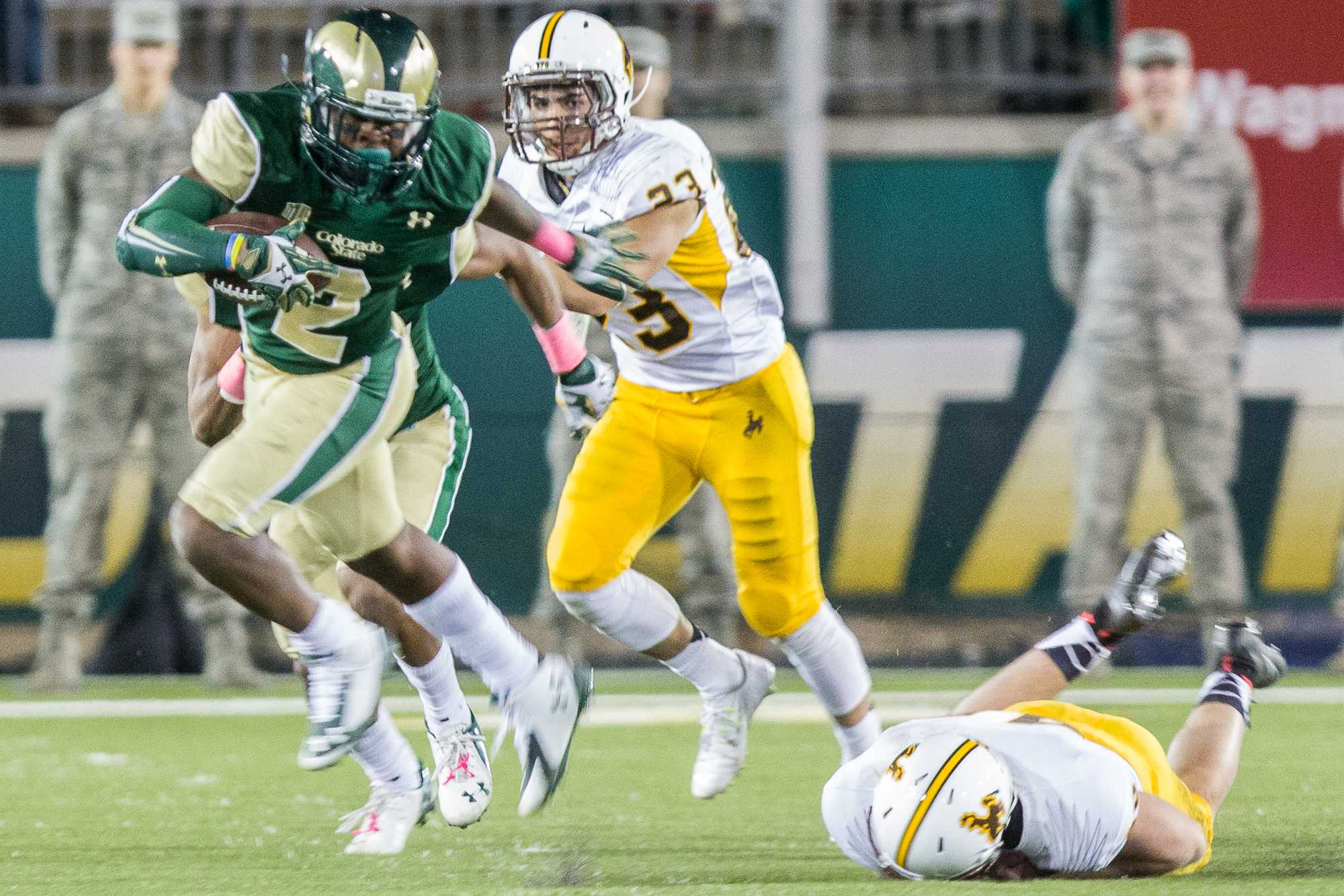 Three Keys with Keegs Colorado State at Wyoming Rocky Mountain Collegian