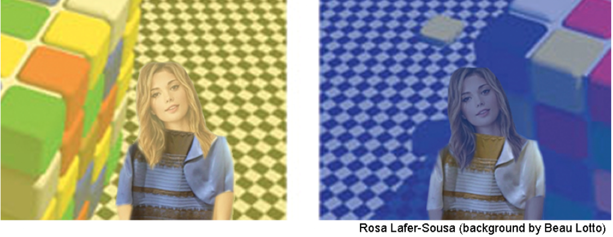 The dress explanation - These Photos Demonstrate How Illumination Can Affect Our Perception Of The Color Of An Object