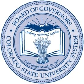 Colorado State University System Board of Governors. (Photo courtesy of Colorado State University)