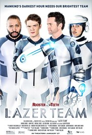 """Lazer Team"" premiered Wednesday to audiences around the country."