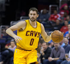 Cavs' Kevin Love had a big game at center for Cleveland (Photo courtesy of Wikipedia).