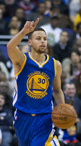 Presumptive MVP Steph Curry (Photo Courtesy of Wikipedia)