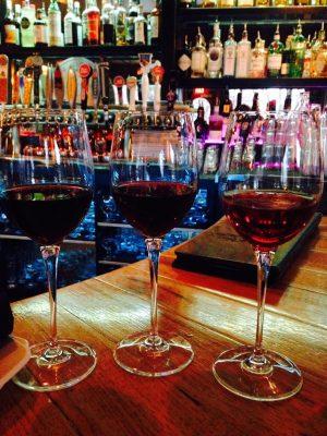 Wine at Café Vino, 1200 S. College Ave. (Photo: Ashley Haberman)
