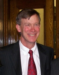 Governor John Hickenlooper (Photo credit: Wikipedia)