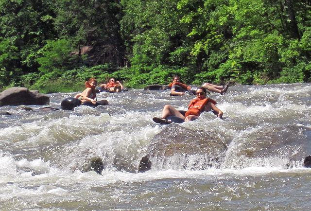 (Tubing/Courtesy By Mike Spille-Wikimedia)