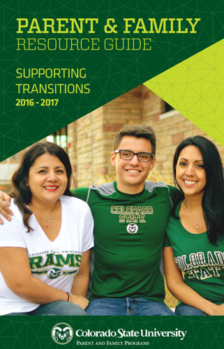 CSU Parent and Family Guide Cover