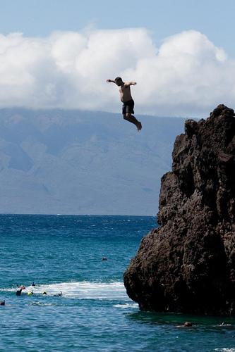 Top cliff diving locations in the world the rocky mountain collegian - Highest cliff dive ...