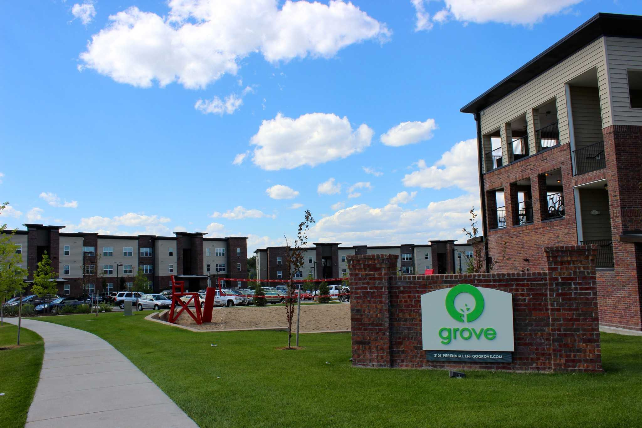 The Grove Is Just South Of Campus And Was Built In 2013.
