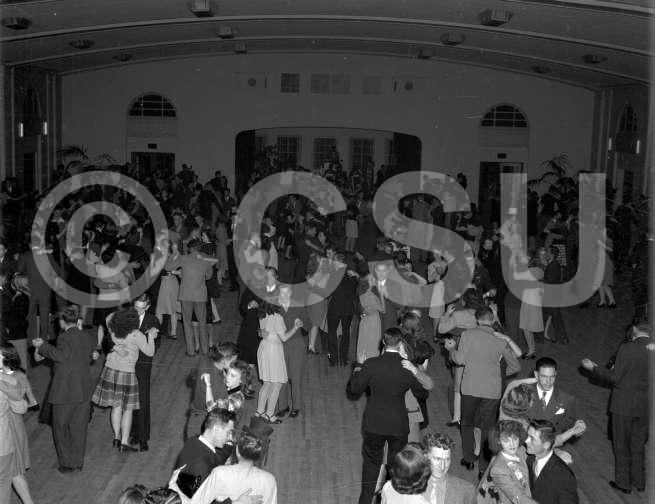 Homecoming Dance, Colorado Agricultural and Mechanical College, 1945. Photo courtesy of CSU Photography, Department of Creative Services.