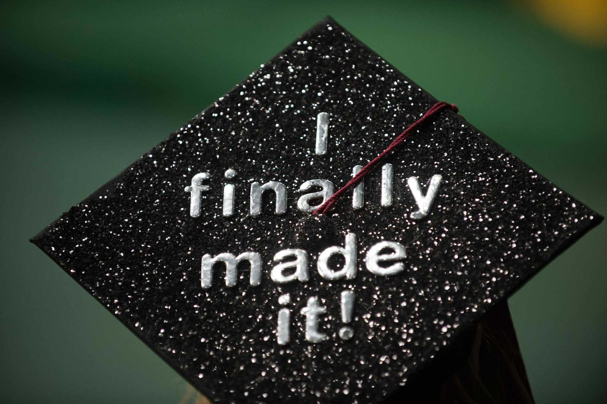 although csu discourages students from decorating their graduation caps you may want to decorate your - Graduation Caps Decorated