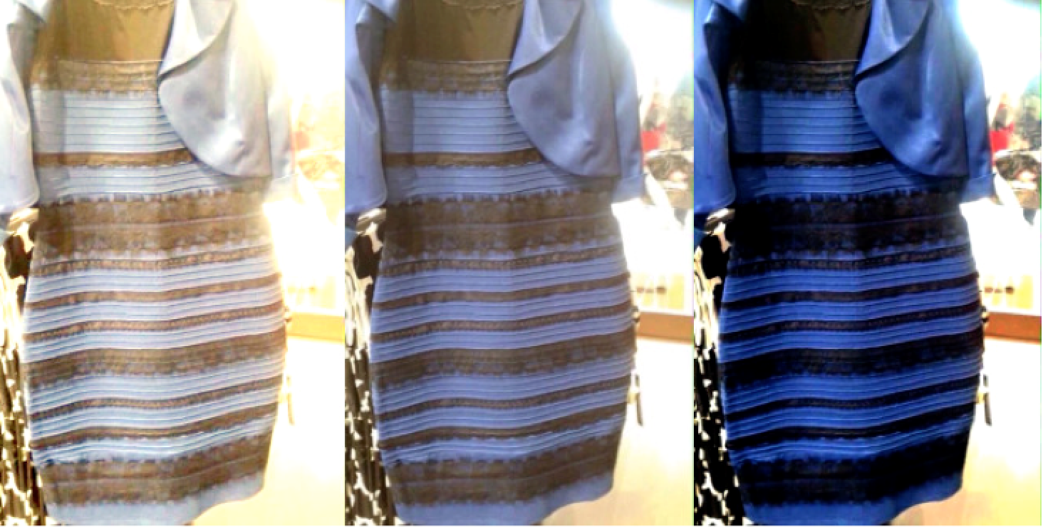 Dress drama debunked  the explanation behind the blue 7d3f96843