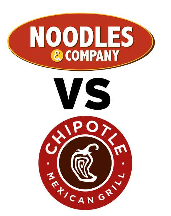 Noodles And Company Logo the battle for every coloradan's heart: chipotle vs. noodles & company