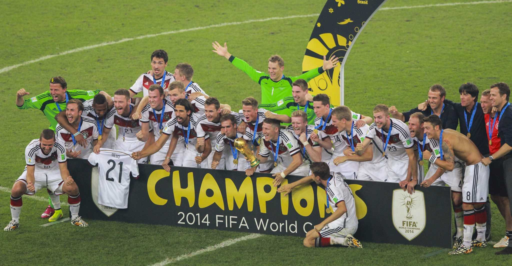 Germany crowned as the 2014 FIFA World Cup champion (Photo courtesy of Wikipedia)