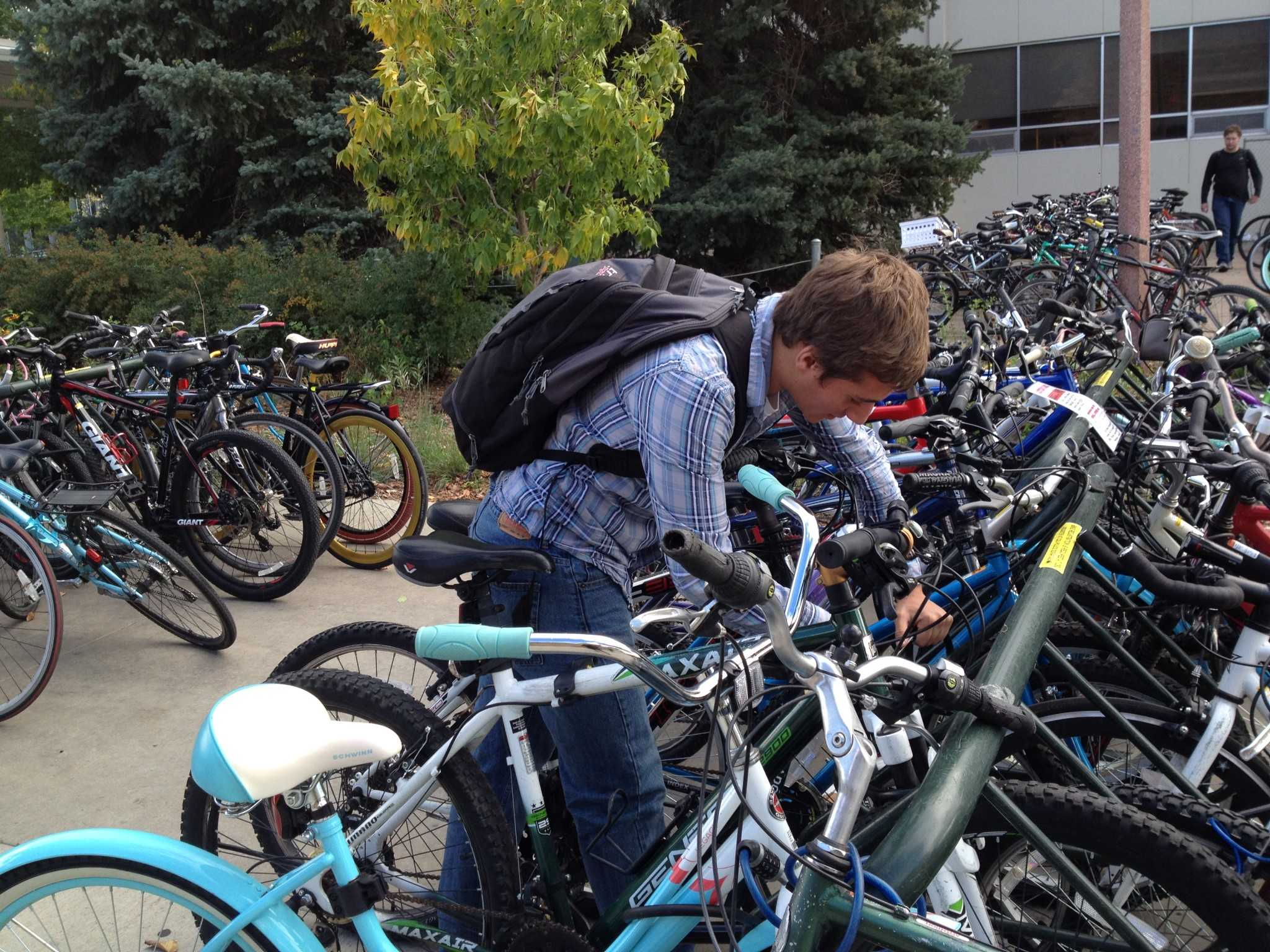 Bike theft rising at CSU may be due in part to negligence