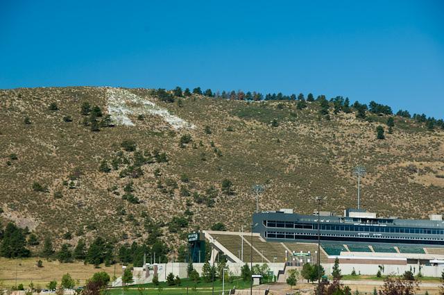 The Road To Hughes Stadium