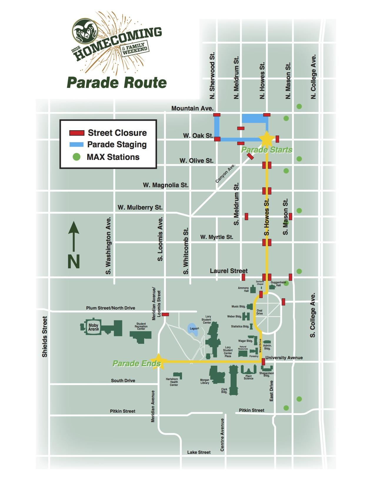 Road-Closures-Map jpg - The Rocky Mountain Collegian