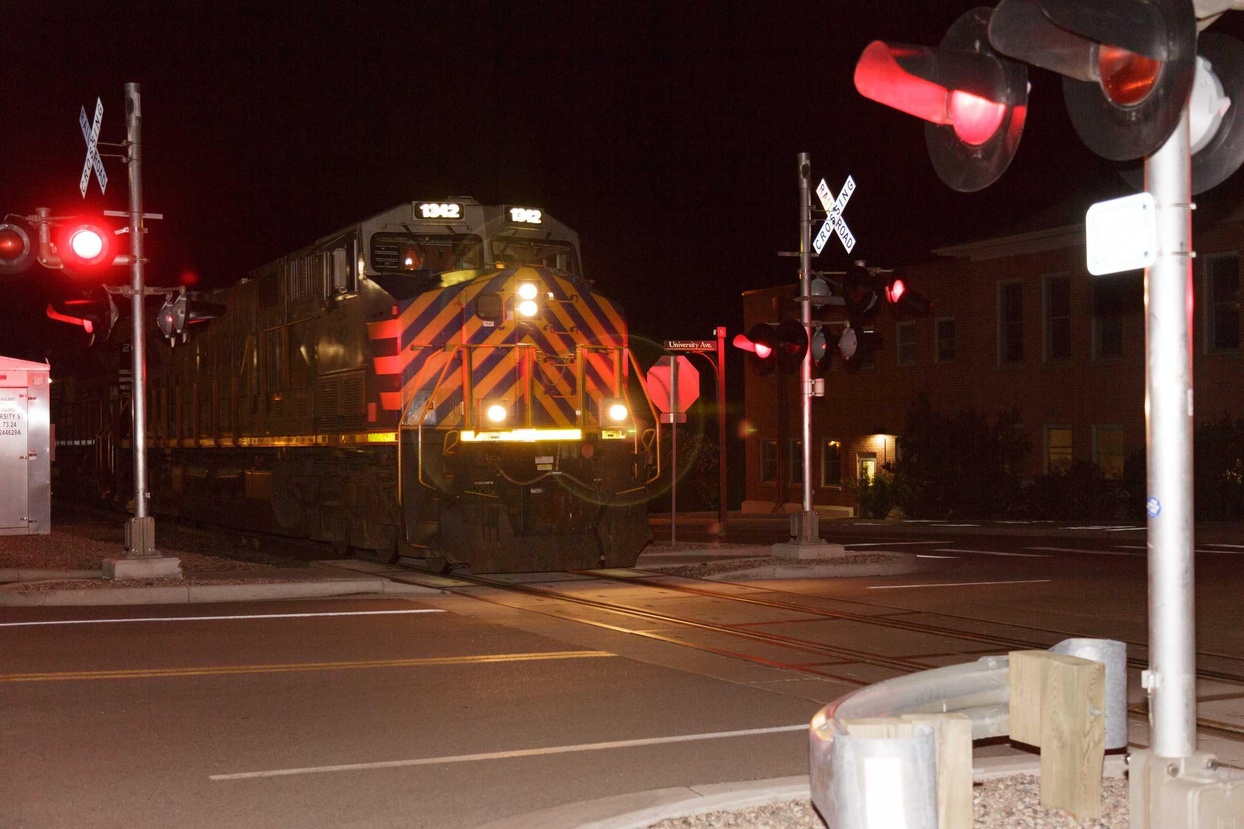 Fort Collins, Trains, Locomotive, Railroad Crossing, Tracks