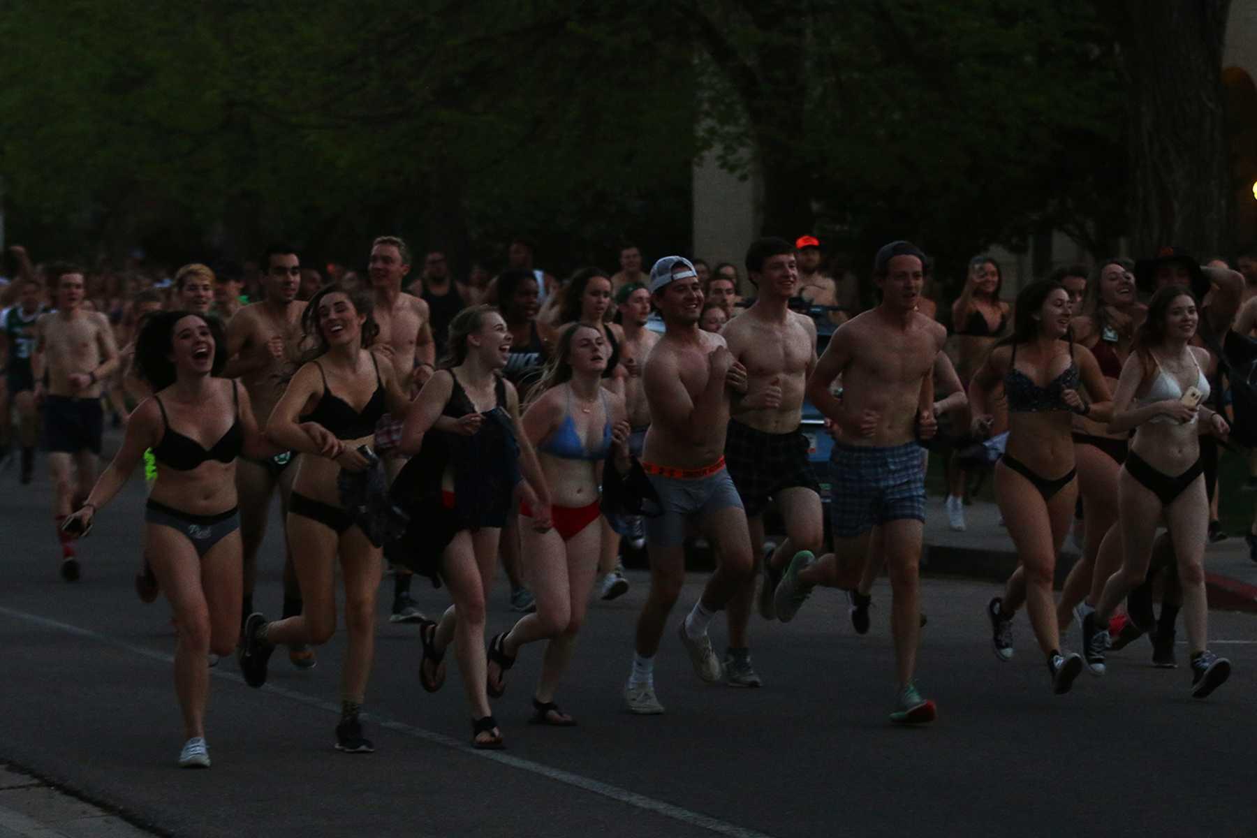 Thousands Gather At Csu Rec Center For Undie Run