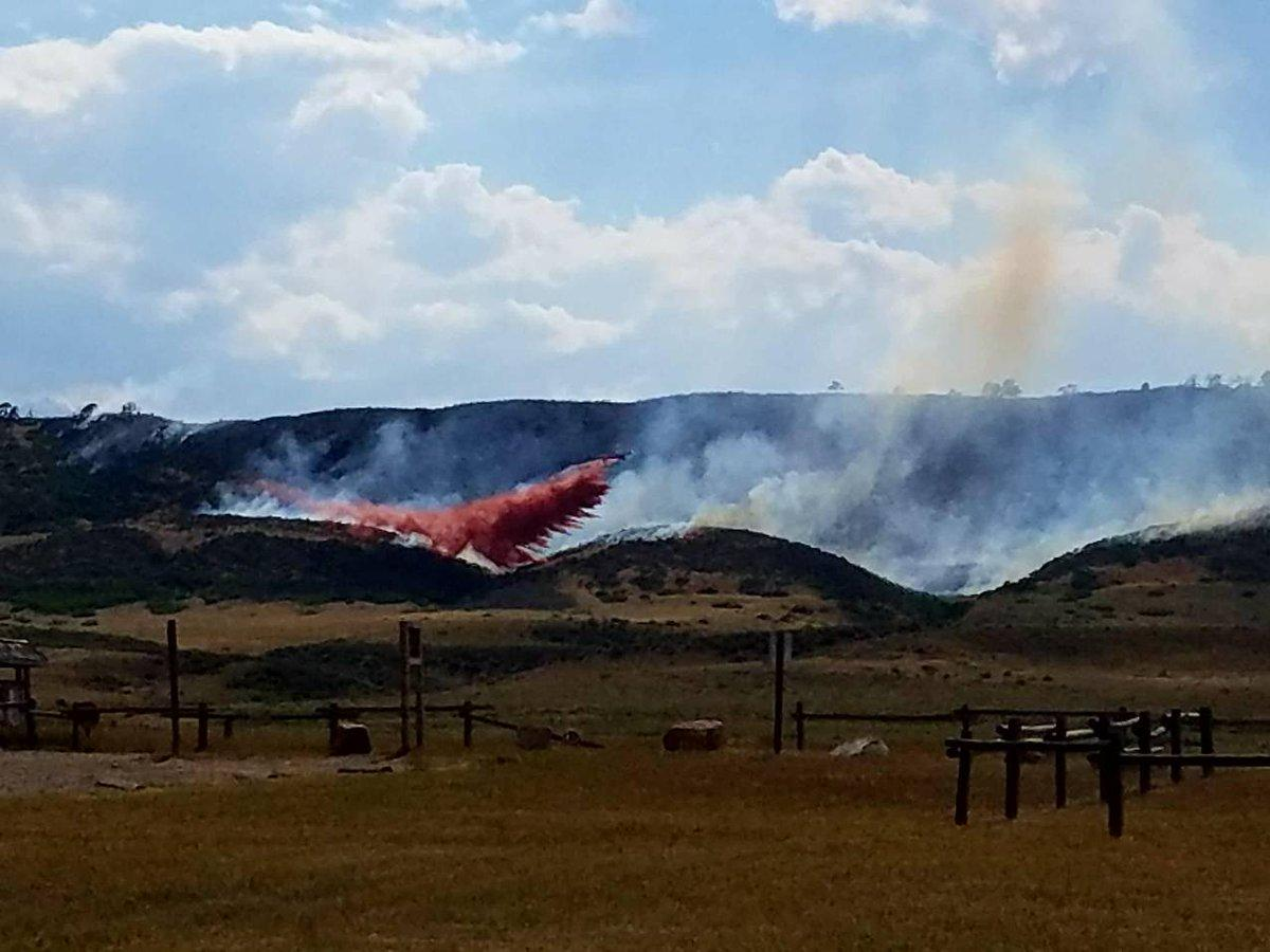 Spring Glade fire breaks out near Fort Collins