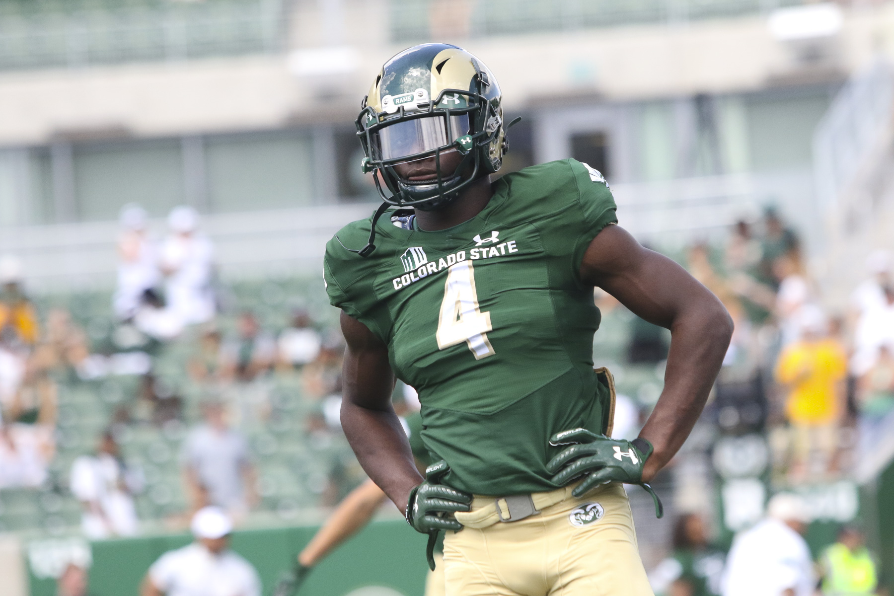 new style 933ae 5d71f Michael Gallup, CSU Rams improve NFL Draft stock at Pro Day ...