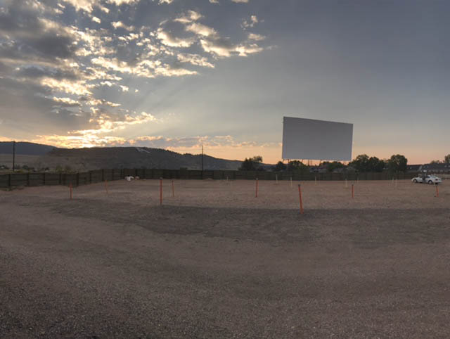 Holiday Twin Drive-In had their final showing over the weekend. They are now closed for the season. (Ashley Potts | Collegian)