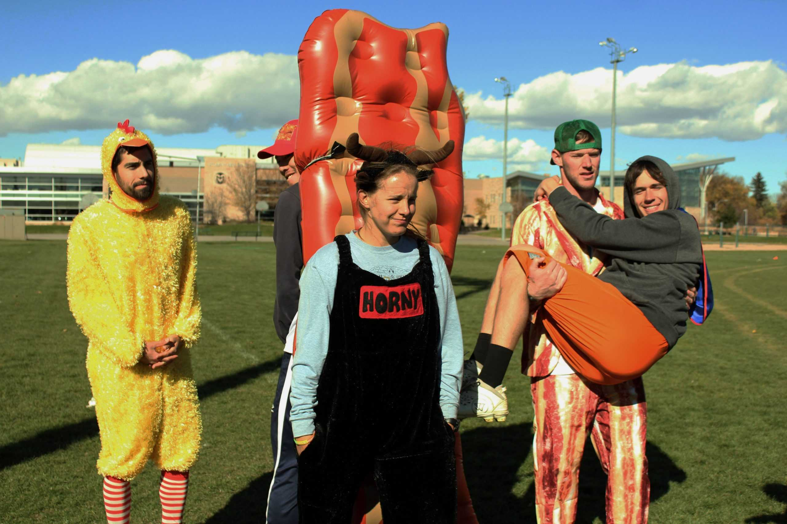 Photo gallery Students play ultimate frisbee in Halloween costumes  sc 1 st  The Rocky Mountain Collegian & Photo gallery: Students play ultimate frisbee in Halloween costumes ...