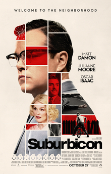 Matt Damon, Oscar Isaac and Julianne Moore line the poster for
