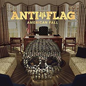 Album cover for Anti-Flag's American Fall