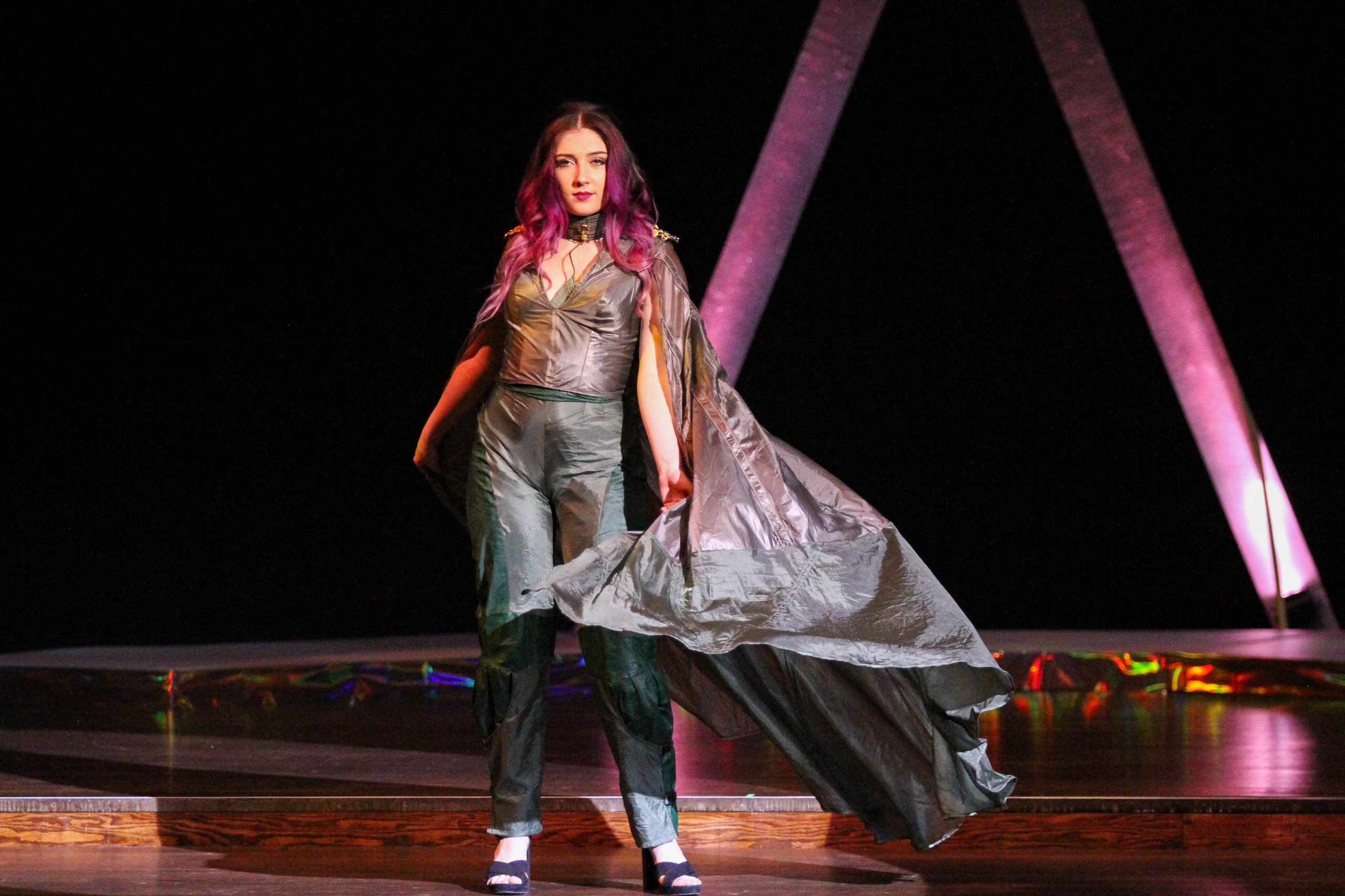 CSU fashion show, 'Spectrum,' dazzles with student designed apparel