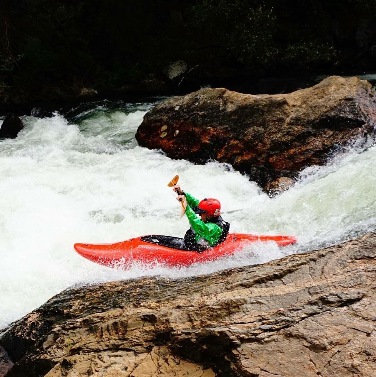 Whitewater Kayaking Adventure