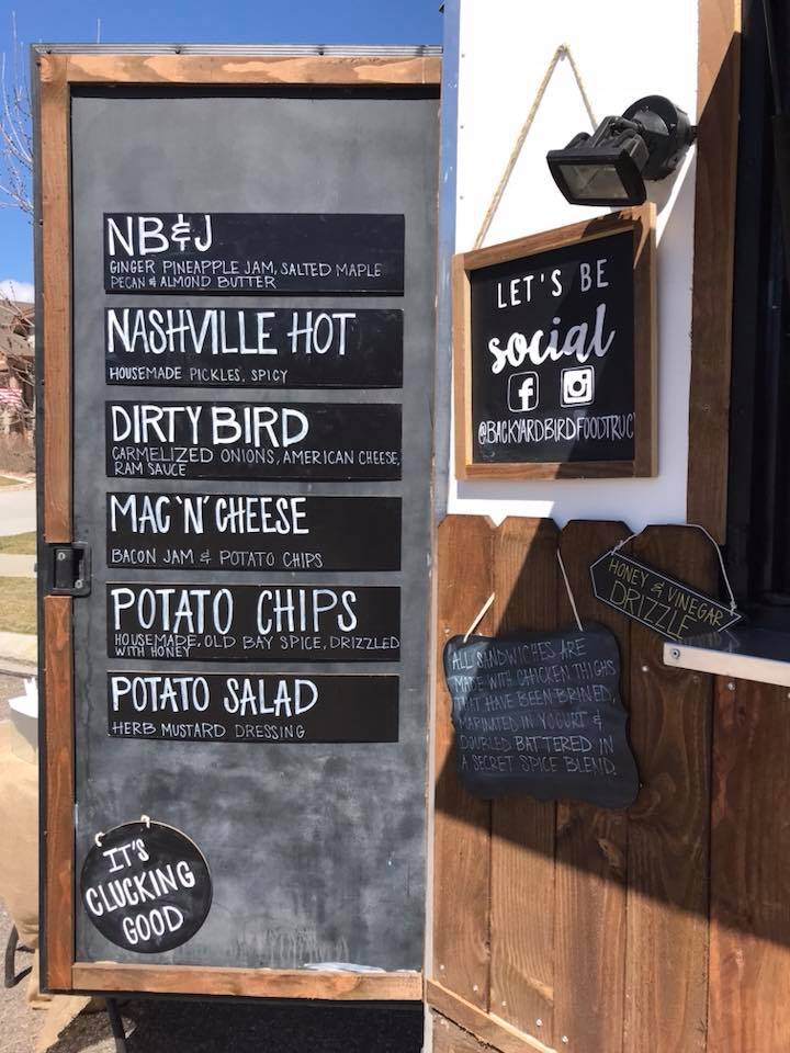 New Backyard Bird food truck stands out with master chef's ...