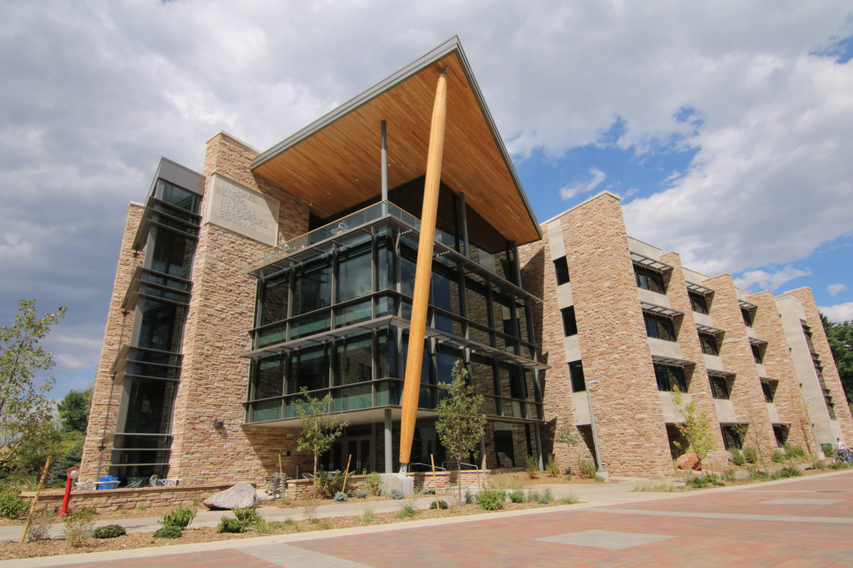 The addition to the Warner College of Natural Resources