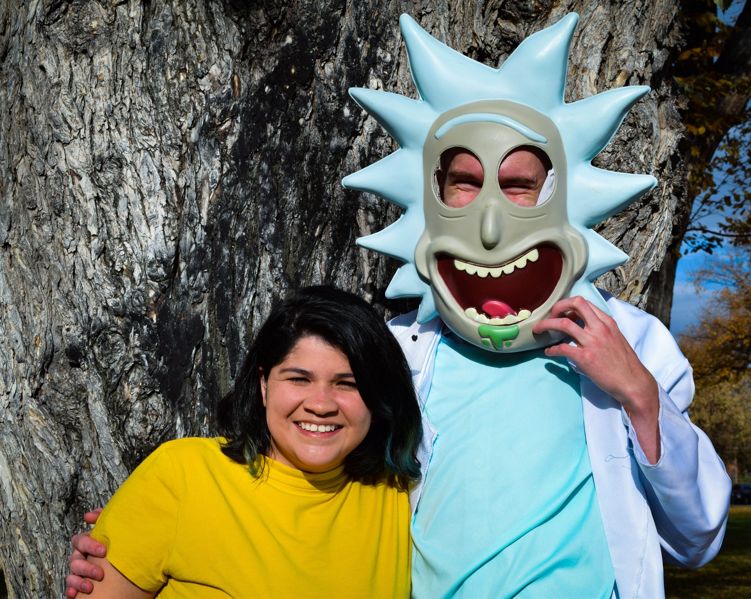 Rick and morty couple costume