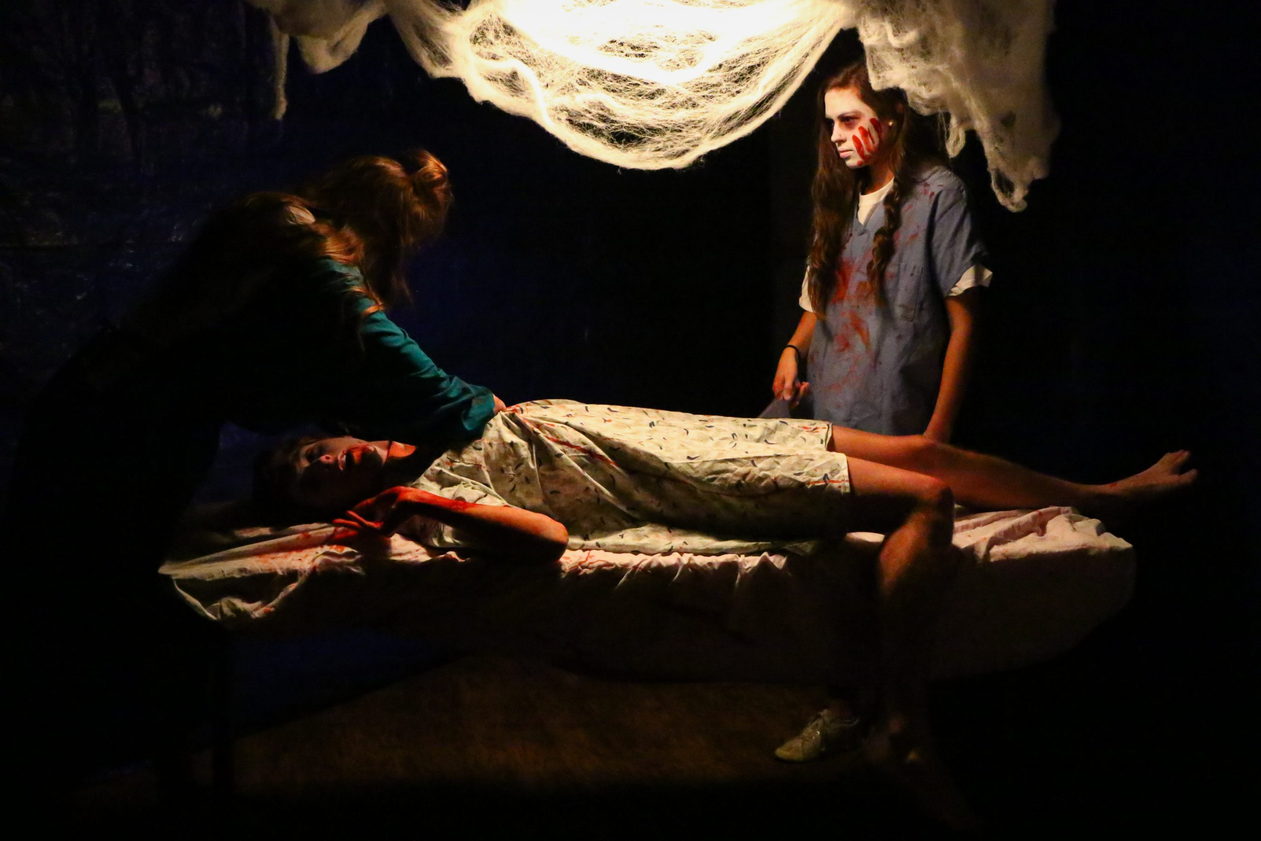 CSU Theta Chi's haunted house spooks visitors with