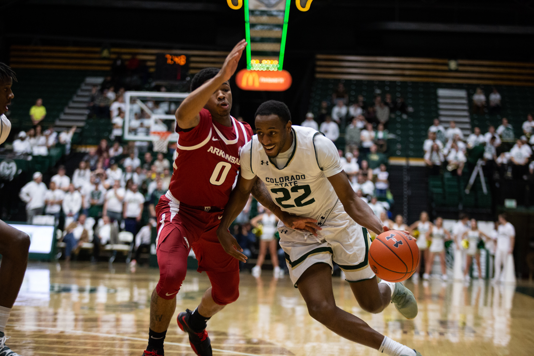 online retailer 82890 42ab7 Rams drop fourth straight, dominated by Arkansas at Moby Arena