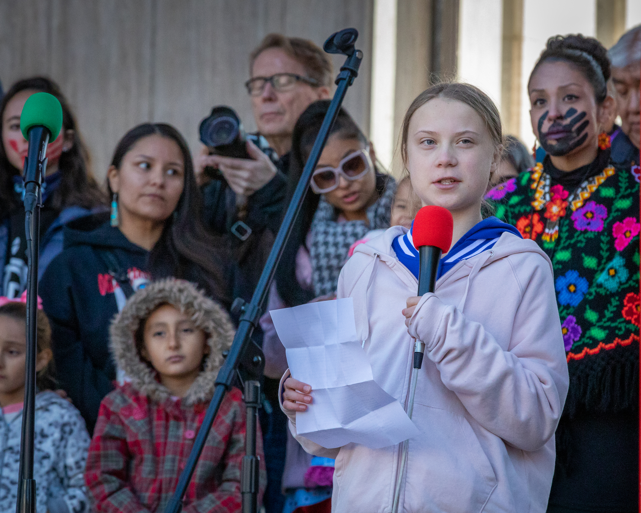 Ortiz Greta Thunberg Sticker Indicates Toxic Masculinity Rape