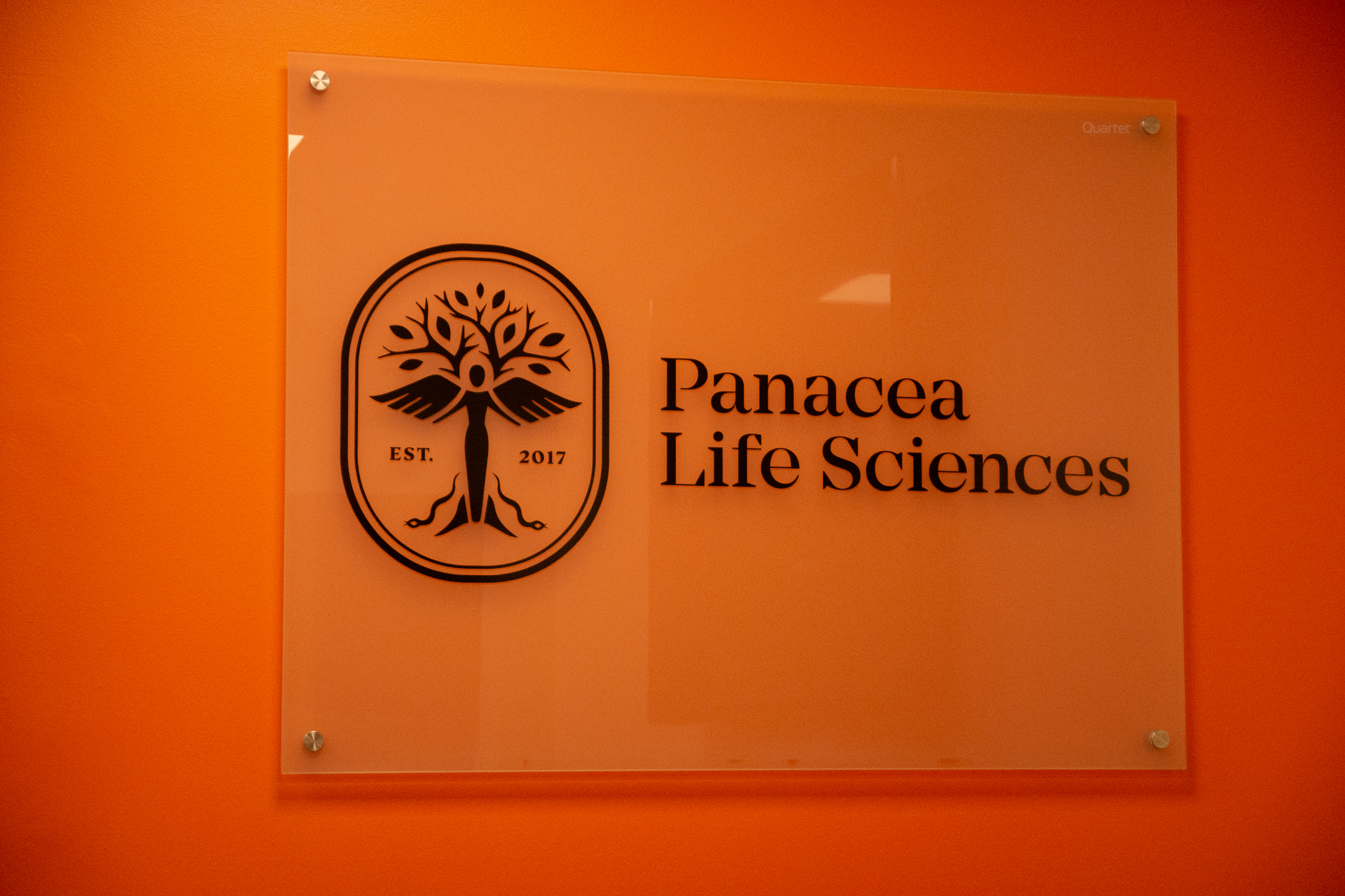A sign of Panacea Life Sciences
